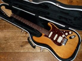 Fender USA Deluxe Ash Stratocaster HSS with S-1 switching 2005