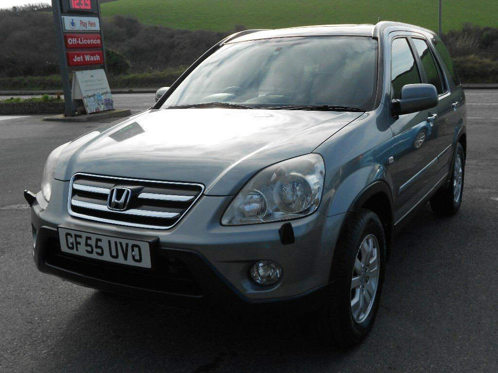 honda crv 2 2 i cdti sport 4wd 2005 39 55 reg turbo diesel. Black Bedroom Furniture Sets. Home Design Ideas