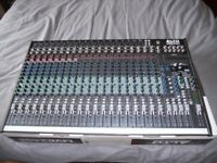 Alto Live 2404 usb mixing desk for full band performance or recording studio application.