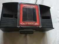 Automatic card shuffler on battery used £4