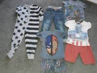 Boys bundle clothes 5-6 years