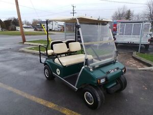 1997 club car DS 4 PASSENGER  GOLF CART