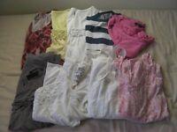 Ten Ladies Tops Size 10