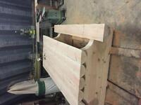 Hand crafted Fir table