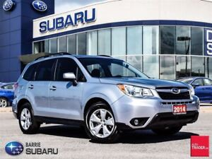 2014 Subaru Forester 2.5i Touring at Roof,H.Seats,Cloth,Racks,