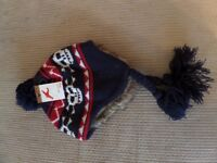 Brand new John Lewis boys pirate hat, size 3-6 years.