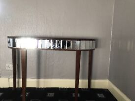Laura Ashley Mirrored Capri Tables