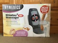 HoMedics SBM-300HA-3GB Shiatsu+ Massager with Heat Upper-Lower Back
