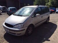 FORD GALAXY 1.9 TDI 6 SPEED MANUAL 2003 BREAKING FOR PARTS