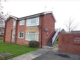 One Bed Upper Apartment in Newton Hall. Would suit wide range of tenants. With Garage.