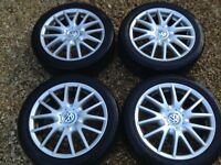 4 tyres, Volkswagen alloys