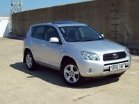 2006 TOYOTA RAV4 XT4 36000 MILES 9 SERVICE STAMPS FULL LEATHER,AIR CON,SUNROOF EXCELLENT CONDITION
