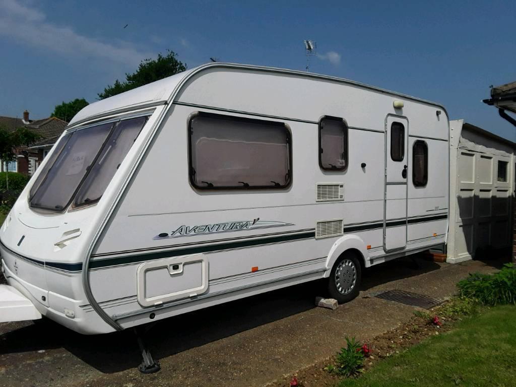 2001 Abbey Adventure 316 - 5 Berth Caravan With porch ...