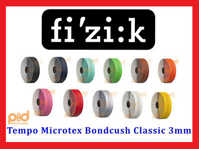 Fizik Tempo Microtex Bondcush Classic 3mm Performance Bike Handlebar Bar (Fizik Tape)
