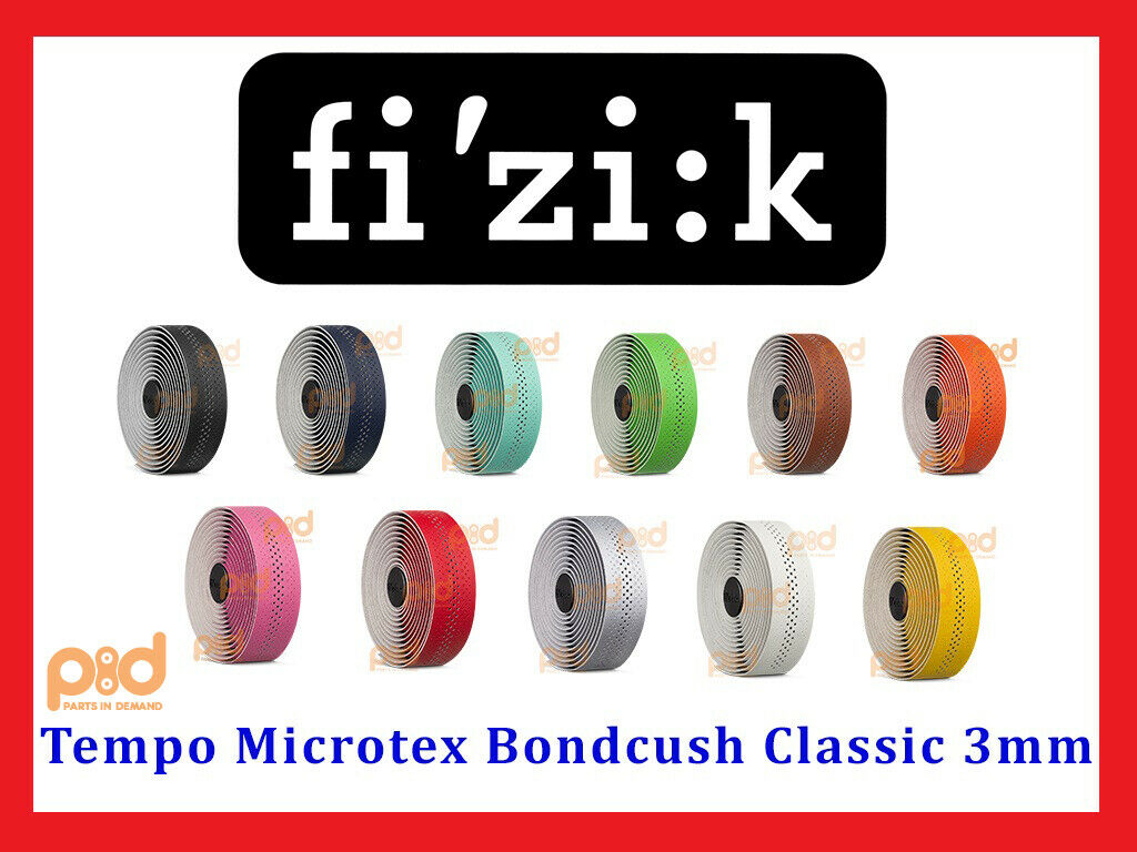 Fizik Bar Tape  SUPERLIGHT Classic Touch Microtex 2mm Antique Brown