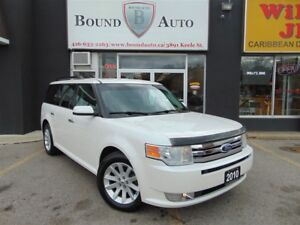 2010 Ford Flex SEL-AWD|H-SEATS|B-TOOTH|C-CONTROL|NO ACCIDENT