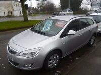 Vauxhall ASTRA 1.7 CDTI Exclusiv Ecoflex estate,clean tidy car,runs and drives well,£20 a yr tax