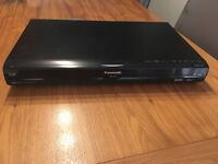 Panasonic 250GB HDD DVD recorder with freeview