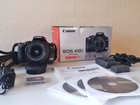 Canon 400D + 18-55 mm lens