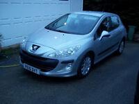 Peugeot 308 1.6 Hdi 5 door, Sat Nav, FSH,