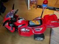 Children's Electric Quad Bike - Includes instructions and charger.