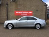 2009 MERCEDES S320 CDI AUTO, SERVICE HISTORY, WARRANTY, NOT 730 745 E CLASS A8 A6 ML X5