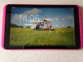 Bubblegum pink hudl 2 tablet excellent brand new condition in box with charger screen is spotless 💗