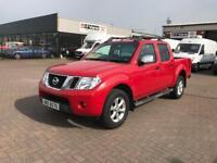 March 2012 Nissan navara 4x4 double cab pick up tekna £10995 or £238 per month j&ft&v mallusk