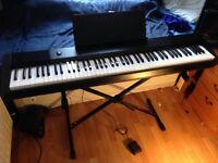 Casio CDP-120 Digital Stage Piano with Stand and Pedal
