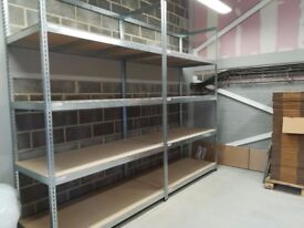 Rapid 3 Shelving (3000h x 1800w) Galvanized - 5 Chipboard Shelves