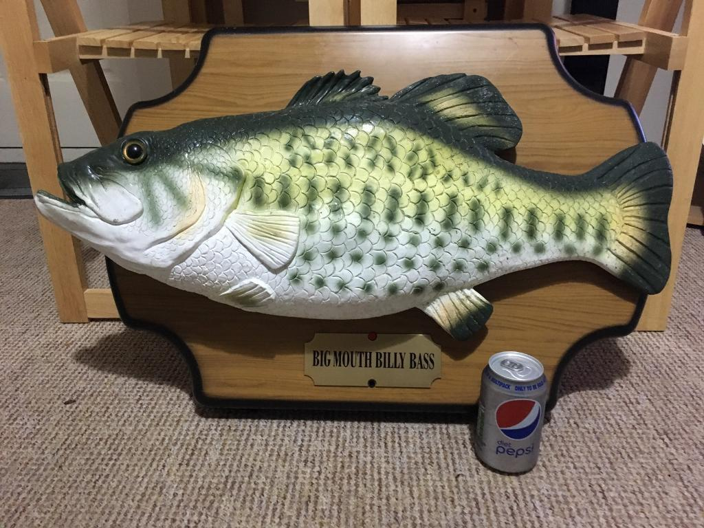 Big Mouth Billy Bass - Very Large Version
