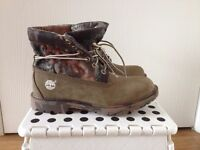 Lady's Genuine leather Timberland Earthkeepers with anti/fatigue unkle boots