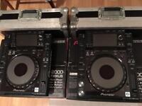 Pair of Pioneer CDJ 2000 Nexuses £2300 ONO