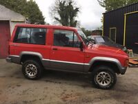 Isuzu Trooper 3door MK2 ideal for off roading