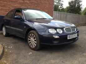 Bargain Rover 25 2003 03 plate low mileage long mot cheap to tax grab a bargain please call me now