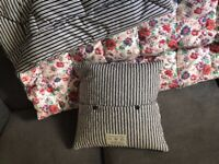 Jack Wills Floral Throw Bed Spread Duvet with Cushions NEW RRP £200 for sale  Barnet, London