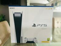 PlayStation 5 Disc Version- Brand New & Sealed