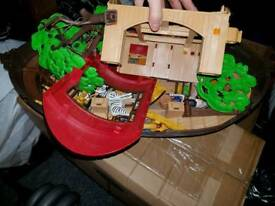 Play mobi noah ark boat with all parts and animals no box but