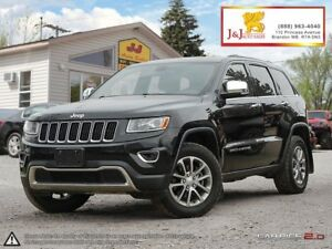 2014 Jeep Grand Cherokee Limited C.Start,Panoramic Sunroof,Le...