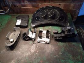 ECU KIT for VAUXHALL CORSA 1.2 Semi Automatic, with AC and no ABS. Clock reading 42000