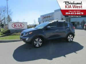 2013 Kia Sportage EX w/Luxury Pkg **LEATHER SEATS/UVO infotainme