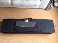 Stagg Music KTC-148 146cm Keyboard Soft Case With Wheels