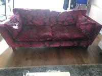 Sofa & love chair for sale immaculate condition.. buyer must uplift..