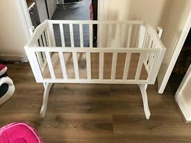 Bethany crib bed white