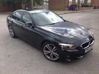 2014 14reg BMW 320D Automatic Black M sport Alloys