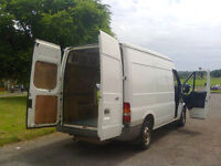 Man and van - pickups, deliveries and light removals.