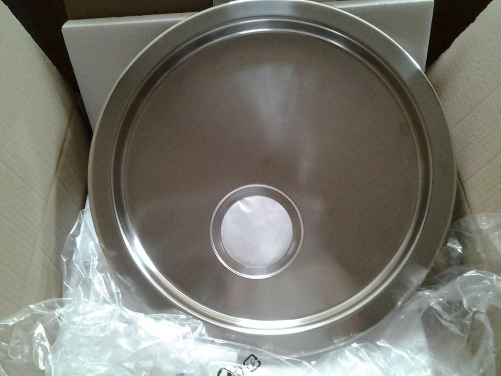 Stainless Steel round sink drainer still in box