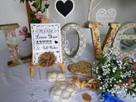 Wedding pieces