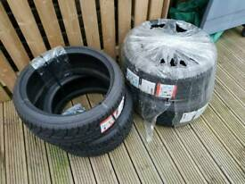 "4 x 18"" Tyres Riken Mayweather 2 by Michelin"