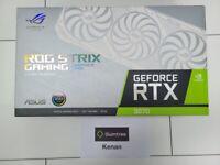ASUS RTX 3070 ROG Strix 8GB White Graphics Card - BRAND NEW SEALED ✅